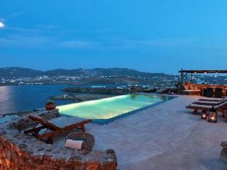 Charming Panormos Retreat nestled hillside with dazzling sea views & infinity pool - Panormos vacation rentals