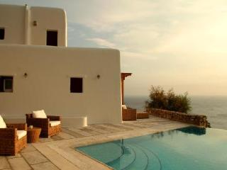 Sophisticated Selene with scenic sea views, elegant terrace & infinity pool - Tourlos vacation rentals