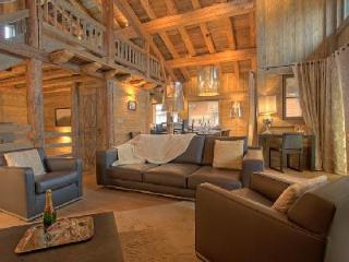 Chalet Tanniere with fireplace and heated plunge pool with Jetstream and Jacuzzi - Megève vacation rentals