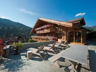 Etesian - Extraordinary property near village center with spa & entertainment room - Gstaad vacation rentals