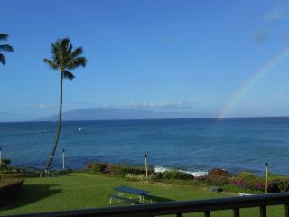 WOW! Ocean FRONT. Panoramic views. 2 King beds - Lahaina vacation rentals