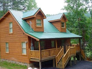 1 Bedroom Cabin Between Gatlinburg and Pigeon Forge with Master Suite Jacuzzi - Sevierville vacation rentals