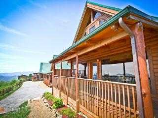 Spectacular Views from the 1 bedroom cabin    AWESTRUCK #170 - Sevierville vacation rentals