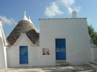 Trullo Azzurro Due - historic & peaceful, sleeps 4 - Locorotondo vacation rentals