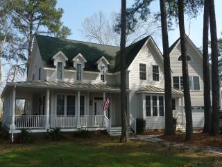 Waterfront Whispering Pines, sleeps 14+, boat slip - Cape Charles vacation rentals