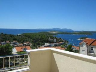 LUXURY APARTMENT IN VILLA , HVAR TOWN, WITH SEA VIEW FOR 6+1 P - Hvar vacation rentals