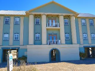Luxury Blue Atlantis House - Gulf Front - Alabama Gulf Coast vacation rentals