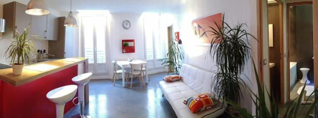 Living room - Sunny Apartment in Marseille 3* WIFI. Sea & City. - Marseille - rentals