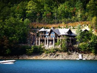 Stunning Lakefront  Log Home - Topton vacation rentals