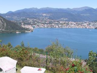 Casa Gialla Ticino lake of Lugano in Switzerland - Ticino vacation rentals
