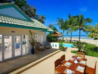 Picturesque Villa Baan Rim Haad, pristine beachfront, and daily housekeeping - Surat Thani Province vacation rentals