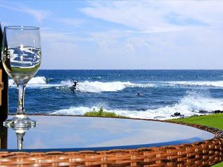 Oceanfront, corner unit, 2 floor-to-ceiling windows, 2 br/2 ba, Poipu sunsets - Poipu vacation rentals