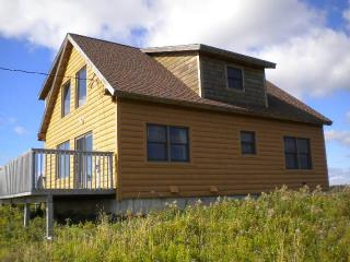 New Log home with ocean view in Acadian Village - Lower L'Ardoise vacation rentals