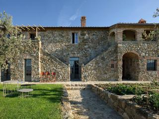 Luxurious Tuscany Villa, incredible view of Val d' Orcia, private pool - Contignano vacation rentals