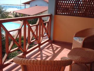 Beach front 1 bedroom apartment Porto Antigo 2 the best frontline development in Santa Maria Sal Island Cape Verde - Cape Verde vacation rentals
