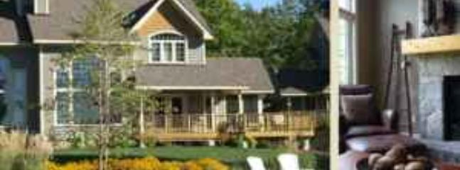 The Villa & a view of the Fireplace - MUSKOKAN CLUB RESORT -  YEAR-ROUND LUXURY - Port Carling - rentals