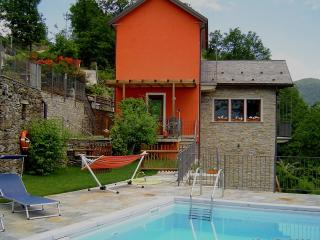 Lago Maggiore villa with swimming-pool - San Bernardino Verbano vacation rentals