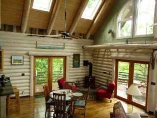 Light Filled Mountain Log Home close to Asheville - Fairview vacation rentals