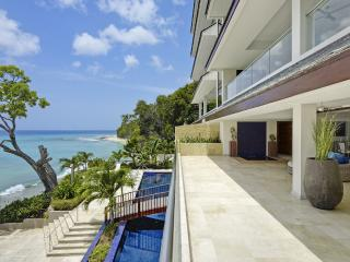 Portico 1 at Prospect Beach, Barbados - Beachfront, Pool, Communal Gym And Sauna - Prospect vacation rentals