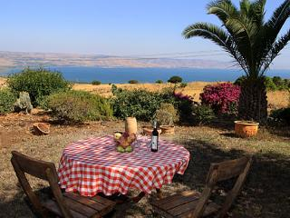 Pinabagallil panoramic view over the see of galilee. - Galilee vacation rentals