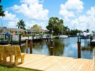 Blue Parrot: 2BR/2BA Canal-Front Home with Dock - Florida South Central Gulf Coast vacation rentals