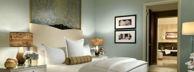 Lose yourself in the plush comfort of the king size bed - Sensational 2BR Penthouse at TRUMP! - Las Vegas - rentals