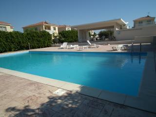 Near the beach villa at Faros beach- communal pool - Larnaca District vacation rentals