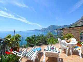 Apartment La Vite in Praiano quite position - Amalfi vacation rentals