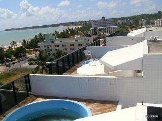 Penthouse,  170 m2 in sea front view ( 50 meters at the  beach ) - State of Paraiba vacation rentals