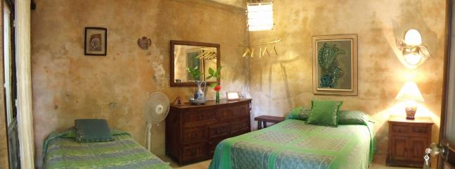 Room #3 at Casitas Kinsol - 1 double bed and 1 single bed - Casitas Kinsol Guesthouse -Room 3- Puerto Morelos - World - rentals