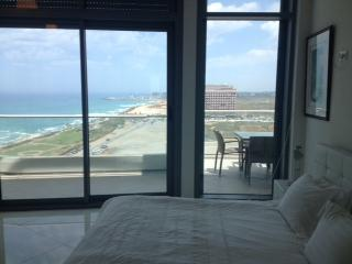 Luxury 2 bedroom apartment. Boutiue Hotel sea view TLV. - Image 1 - Tel Aviv - rentals