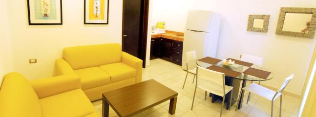 Living-Dining room - MODERN APARTMENT WITH ALL SERVICES FOR GREAT VACATIONS! - United States - rentals