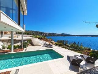 Modern waterfront oasis Villa Isabella with indoor- outdoor pool & terrace - Primosten vacation rentals