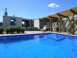 Poolside Splendor - Martinborough Holiday Home - New Zealand vacation rentals