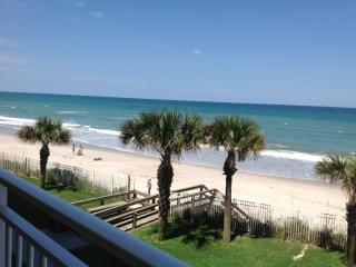 Direct Oceanfront. Extra Large Balcony. Renovated - Indian Harbour Beach vacation rentals