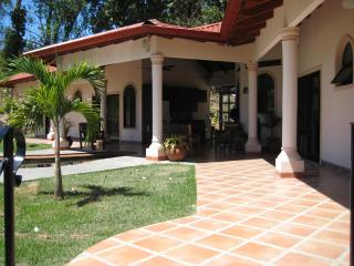Casa Del Sol - Large 4 master bedroom villa, cool breezes in the jungle covered mountains, secluded beached nearby! - Ojochal vacation rentals