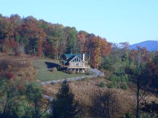 Sunny Ridge-Private cabin with VIEWS! - West Jefferson vacation rentals