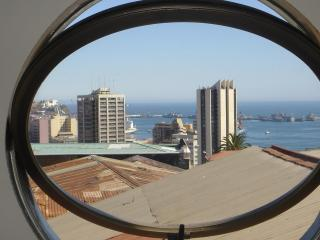 Sweet Oceanview Studio Apartment: Valparaiso - Valparaiso vacation rentals