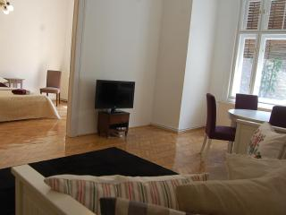 2 ENSUIT BEDROOM + LIVINGROOM & BALCONY AT OPERA - Budapest vacation rentals