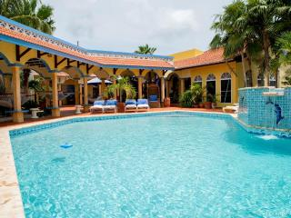 Upscale and Uphill Villa with scuba dive services - Bonaire vacation rentals