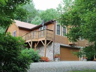 SPECTACULAR LOG CABIN, 4 BR, 3 BR. PRIVATE, HIKING, HOT TUB!!!! TAKE A LOOK!!!! - Burnsville vacation rentals