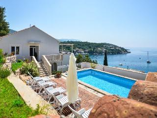 Seafront villa with amazing sea views and private pool - Molunat vacation rentals