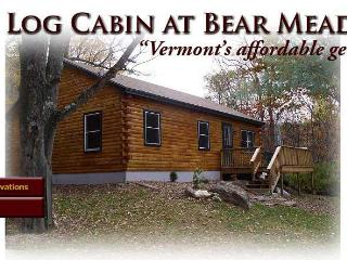 Vermont Log Cabin available for weekend and weekly rentals - Guilford vacation rentals