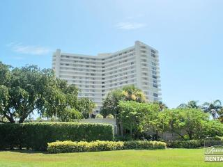 Outstanding views of Crescent Beach from every room in the 2 bed 2 bath condo - Marco Island vacation rentals