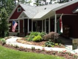 Front Entrance - Garth Newell: Cooperstown Area Lakefront Rental - Maryland - rentals