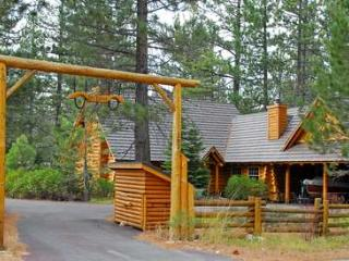 Log Lodge-on 2.5 acres, walk to beach, pets ok - Homewood vacation rentals