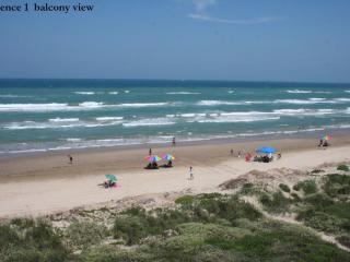 Beachfront PARADISE at it's best! Awesome views! Sleeps 6! Great value! FREE WIFI, Indoor parking - South Padre Island vacation rentals