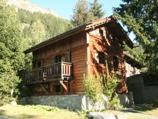 Stunning wood Chamonix ski chalet next to ski lift - Argentiere vacation rentals