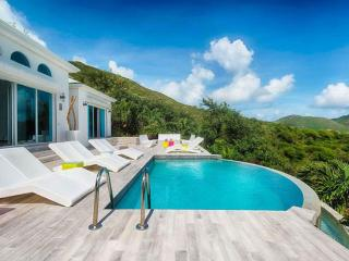 St. Martin Villa 153 Enjoy A Stunning View Over Orient Bay And Ocean Beyond From The Plunge Pool And Sun Deck. - Orient Bay vacation rentals