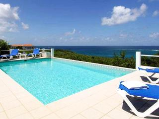 Anguilla Villa 56 The Pool Area And Gallery Offer Fabulous Ocean Views And Magnificent Sunsets. - Terres Basses vacation rentals